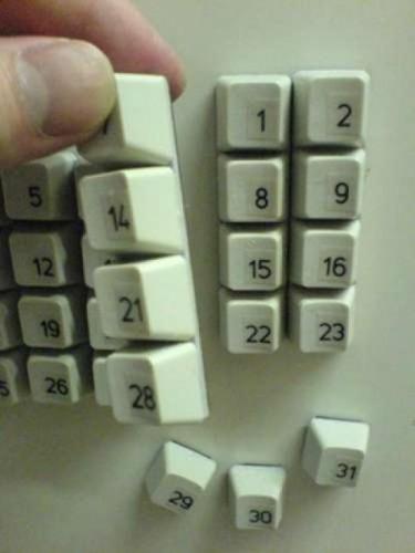как сделать календарь на холодильнике