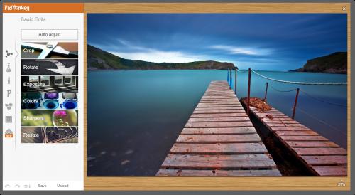 сервис для редактирования фото в Интернете