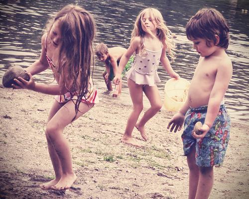 где лучше фотографировать детей