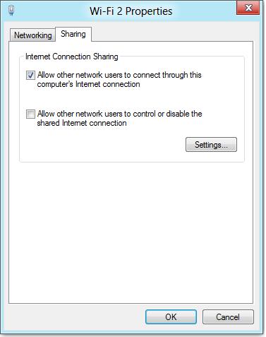 Как сделать из ноутбука под Windows 8 точку доступа WiFi