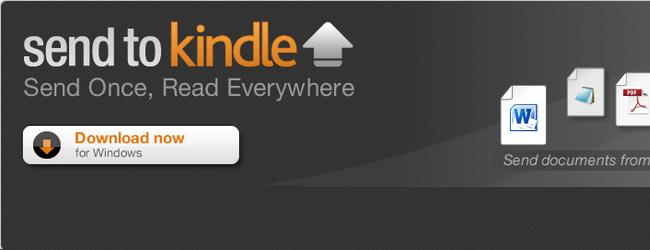 Как закачивать книги и документы на Amazon Kindle