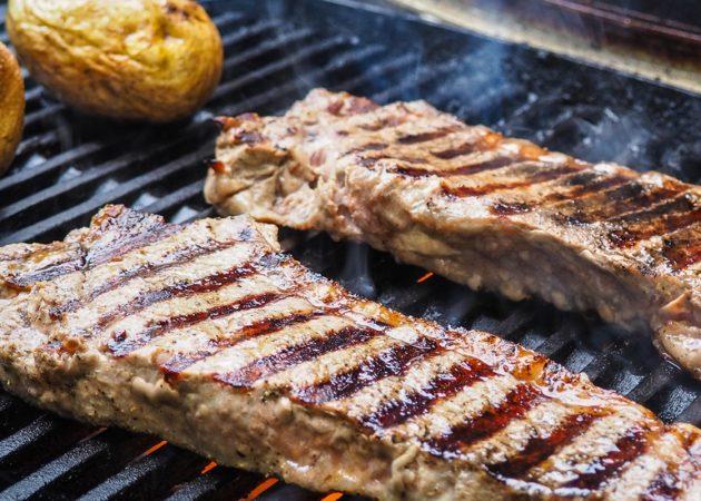 РЕЦЕПТЫ: Готовим мясо на гриле