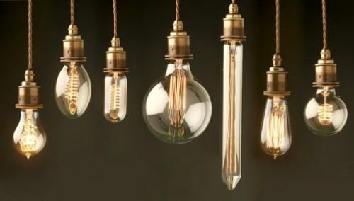 37 способов использования электрических лампочек в домашнем интерьере