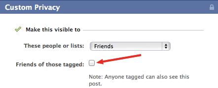 как установить отдельные настройки для каждой фотографии в Facebook