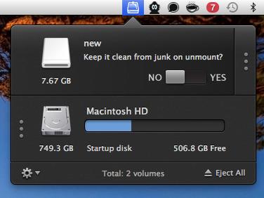 как очистить флешку от файлов DS_Store