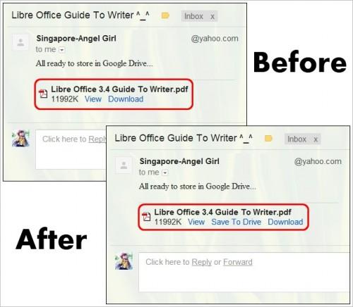 Как сохранять любое вложение из Gmail напрямую в Google Drive