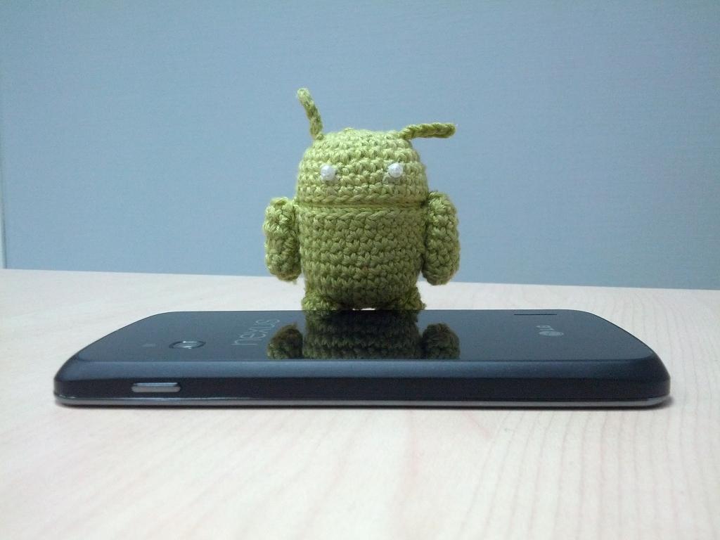 Как связать крючком маленького Android