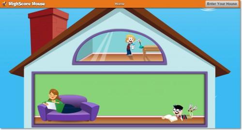 HighScore House - мотивационный сервис для детей и их родителей