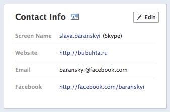 Как вернуть в профиле facebook ваш прежний e-mail (+голосование)