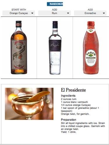 как приготовить вкусный коктейль из того, что есть в баре
