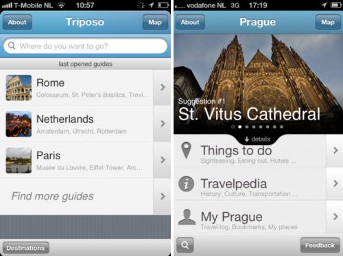 Triposo порекомендует вам, куда сходить в незнакомом городе