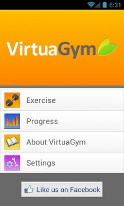 VirtuaGym для Android