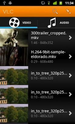 Вышла бета-версия VLC Player для Android