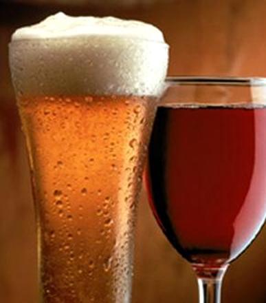 как приготовить винно-пивнойкоктейль spritzer