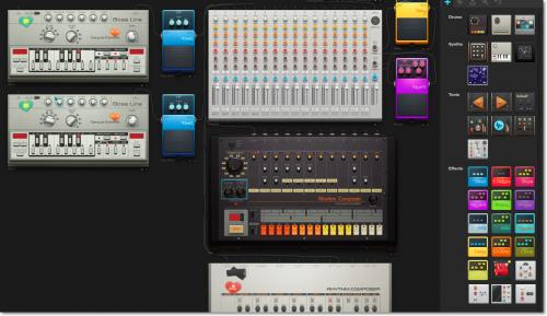 виртуальная звукозаписывающая студия