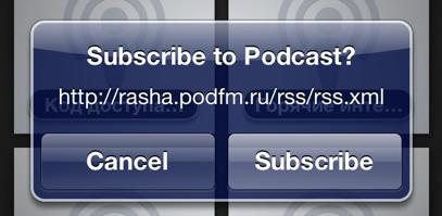 Как подписаться в приложении Apple Podcasts на любой подкаст не из официального каталога