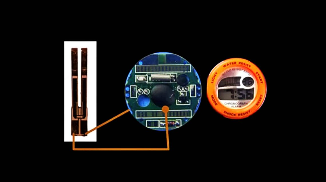 ВИДЕО: Как работают кварцевые часы