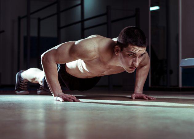 Домашний спортзал: упражнения для рук