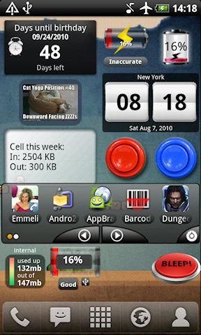 виджет оперативной памяти андроид - фото 10
