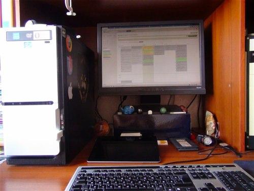 компьютерный стол для двоих на