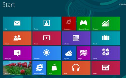 Как «запинить» Лайфхакер на рабочий стол Windows 8 Metro