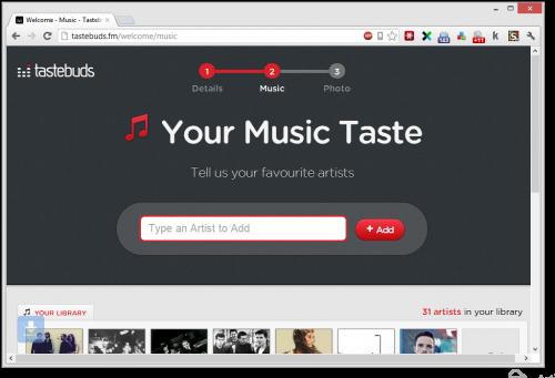 соцсеть для любителей музыки