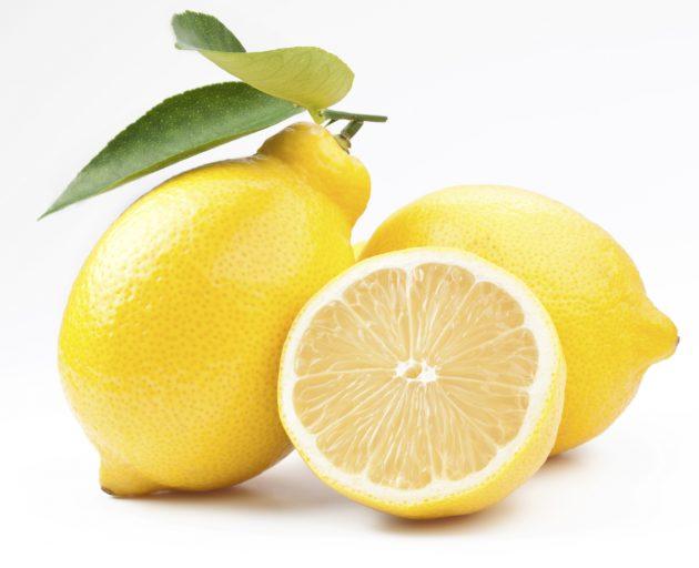укусы насекомых: лимонный сок