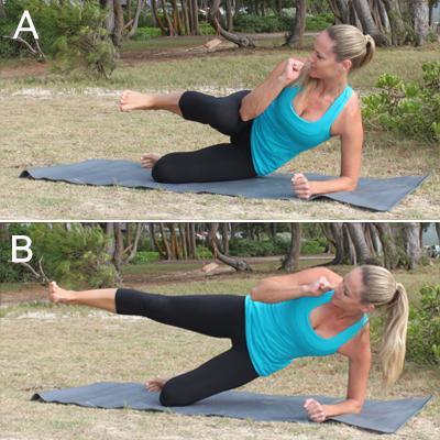 упражнения для мыщц живота, для ягодиц, рук и бедер