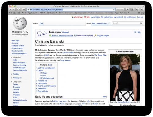 как сделать бумажную книгу из статей Википедии