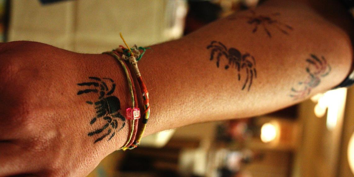 Как сделать временные татуировки
