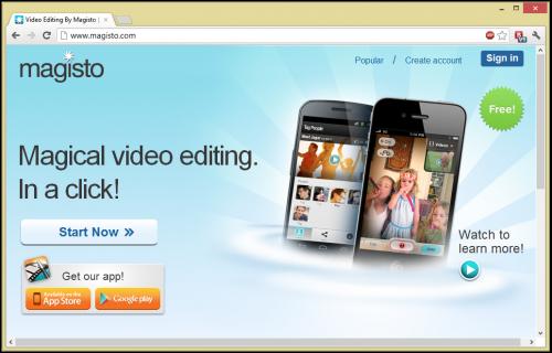 Magisto - видео-редактор с поддержкой мобильных устройств