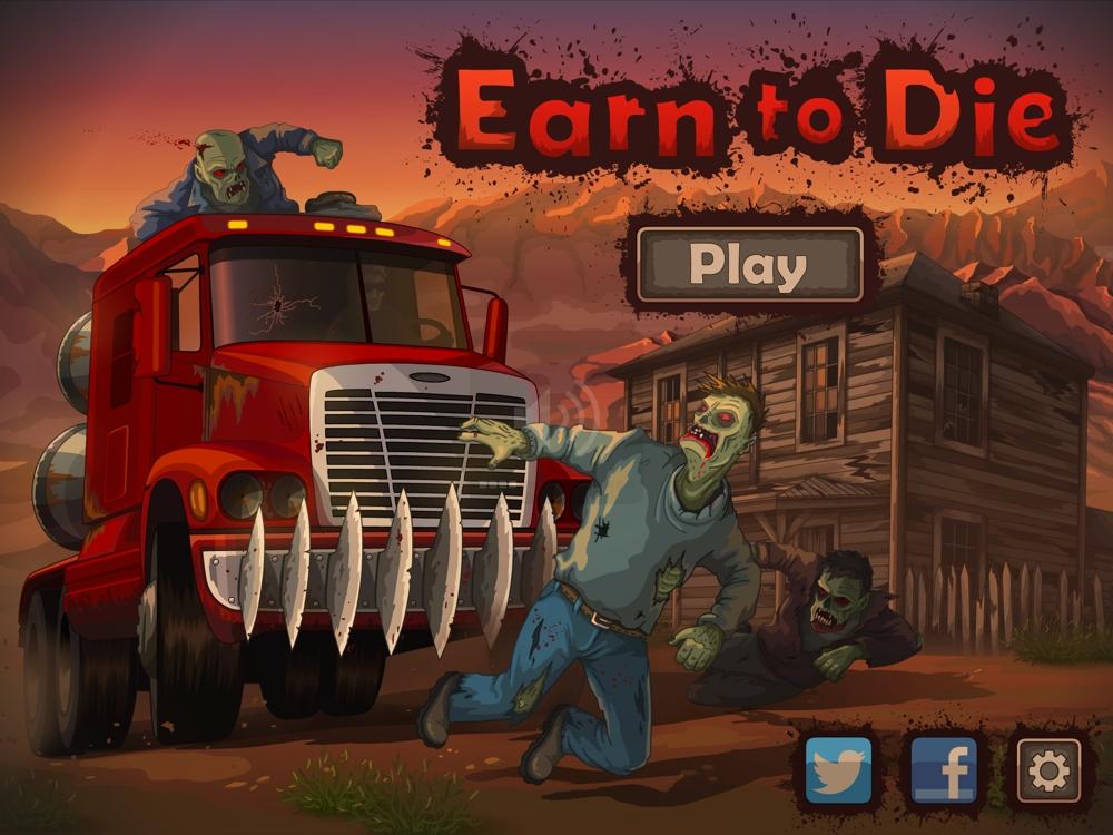Earn to Die: дави зомби