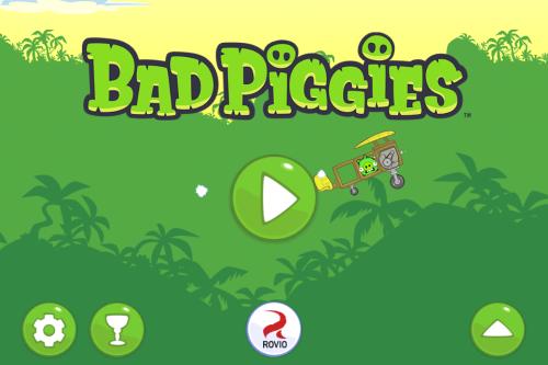 В App Store появились долгожданные Bad Piggies от Rovio!