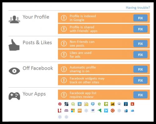 PrivacyFix поможет обеспечить вашу приватность в сети