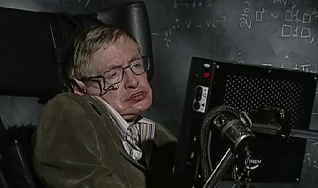 ВИДЕО: Стивен Хокинг о строении Вселенной и судьбе человечества
