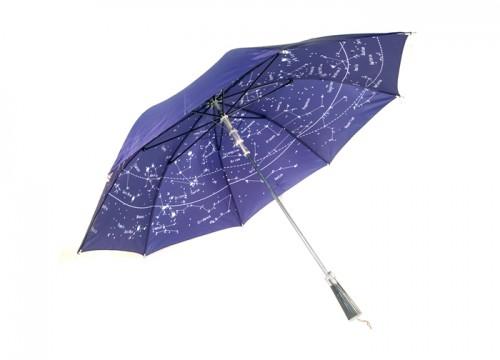 зонтик со звездным принтом