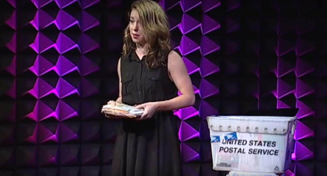 ВИДЕО: Ханна Бренчер и ее любовные письма незнакомцам