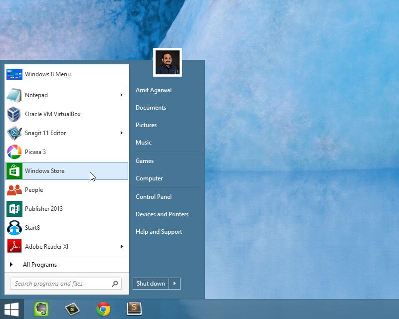 Кнопка Пуск Windows 8 Скачать Бесплатно - фото 5