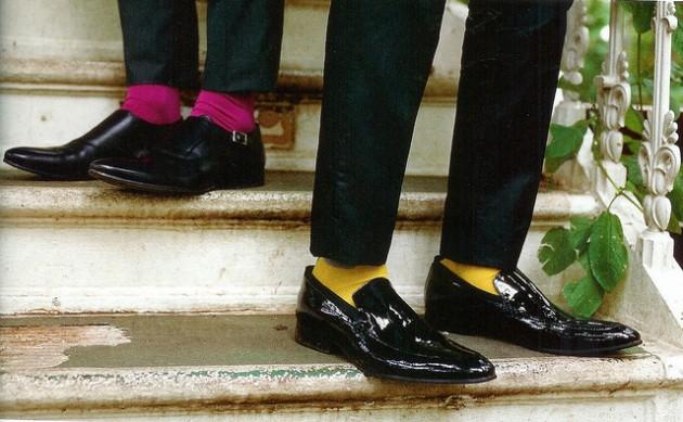 DM101-Solid color socks