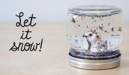 Как сделать новогодний стеклянный шар своими руками