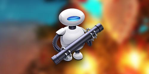 Automator: Копирование в буфер обмена пути выделенных файлов и папок