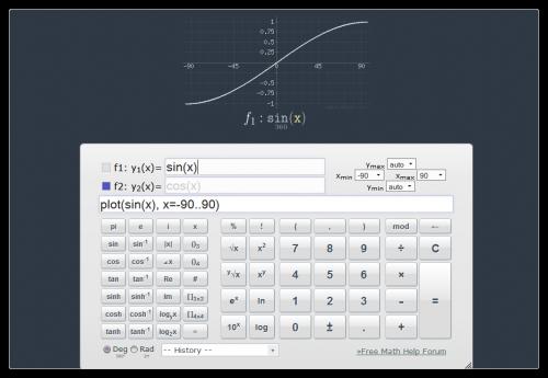 Программа Математический Функций
