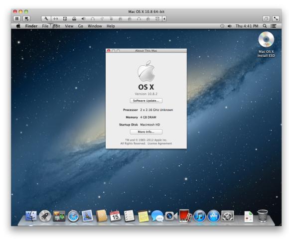 Как установить две версии OS X на один Мас