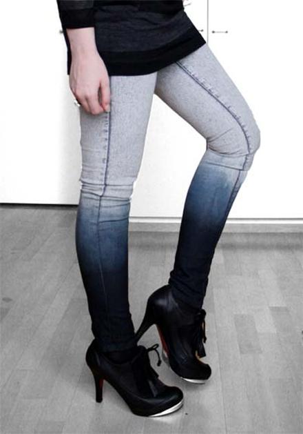Градиентные джинсы