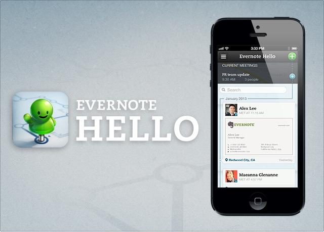Evernote обновили визитницу Hello и рисовалку Penultimate