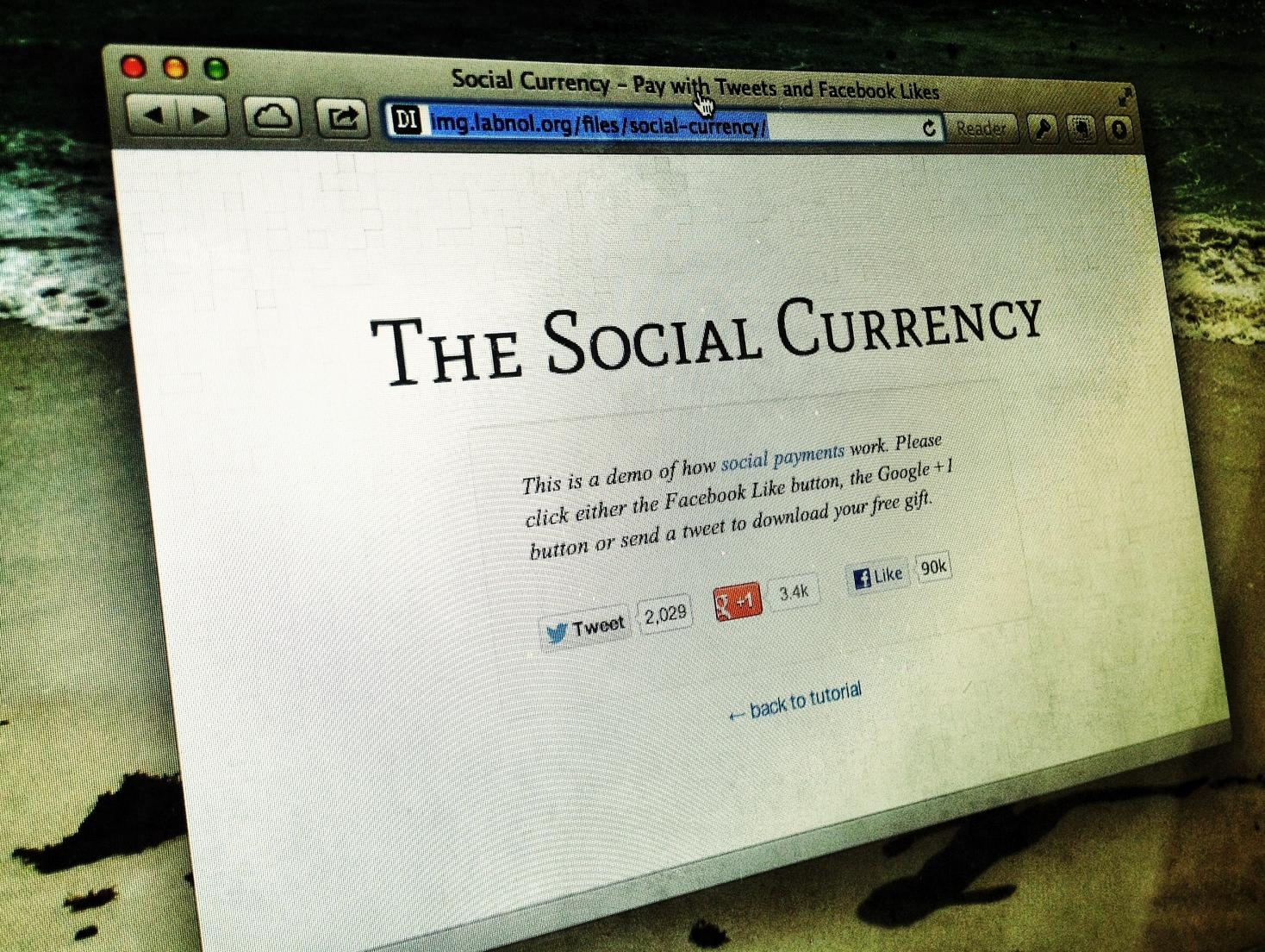 Как использовать социальные сети для «оплаты» доступа к информации