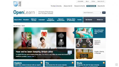 Open Learning   OpenLearn   Open University