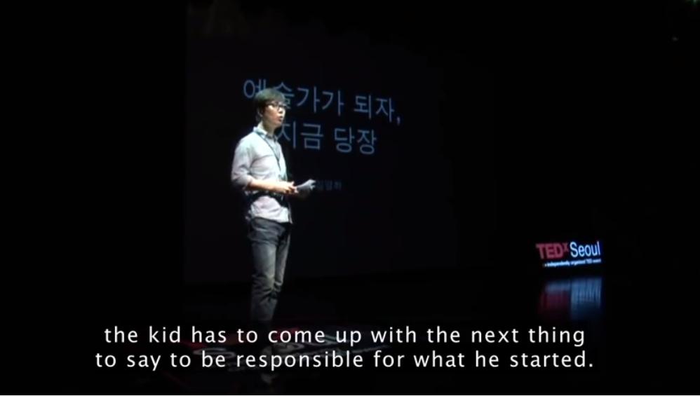 ВИДЕО: Корейский писатель Юнг-ха Ким о творческом потенциале