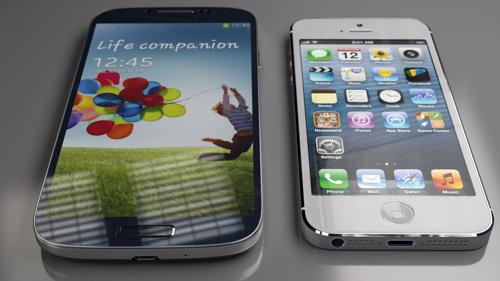 У пользователей Twitter iPhone 5 вызвал больший интерес, чем Galaxy S4