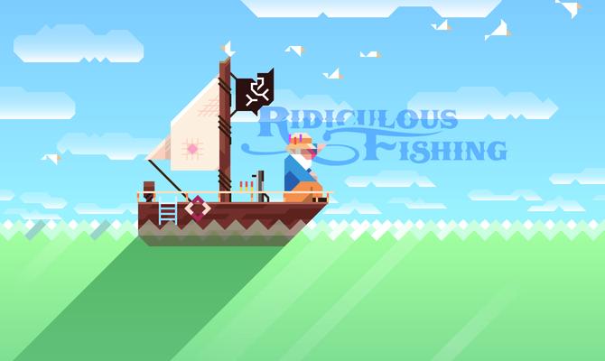Ridiculous Fishing – такую рыбалку вы еще не видели!